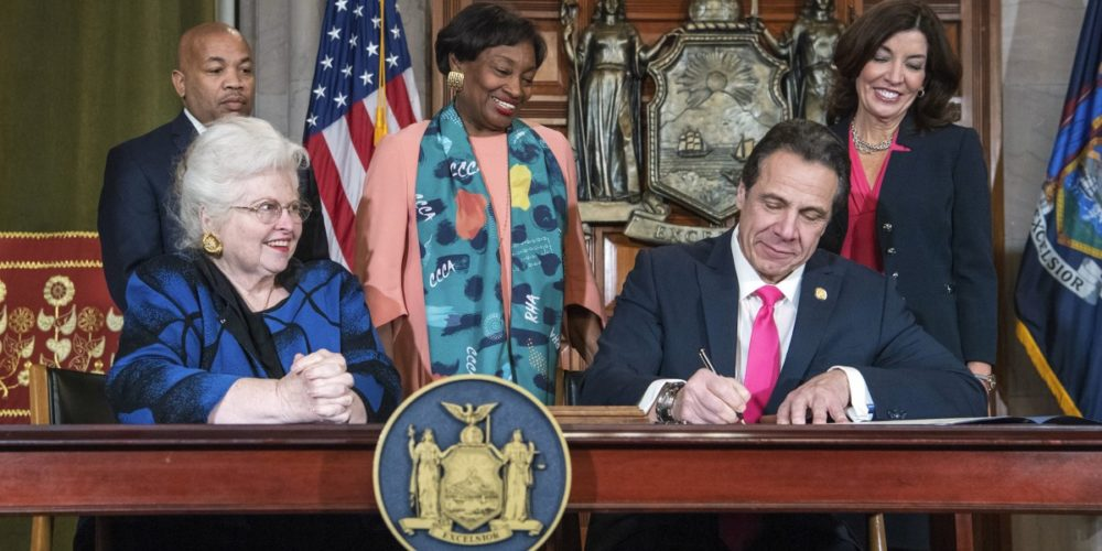 NY Signs new abortion law